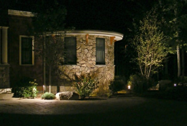 Lighting by Belknap Landscape Co.