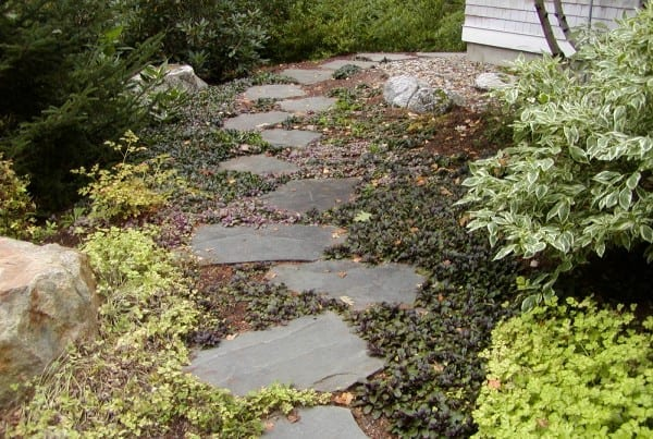 Walkway by Belknap Landscape Co.