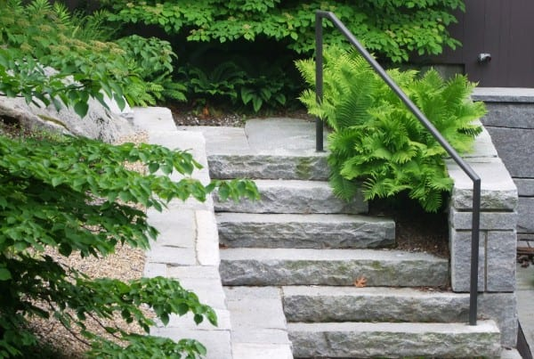 Stairs by Belknap Landscape Co.